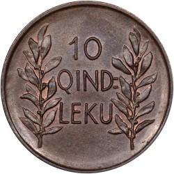 سکه > 10کیندارلکو, 1926 - آلبانی  - reverse