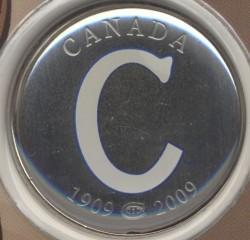 Münze > 50Cent, 2009 - Kanada   (100th Anniversary - Montreal Canadiens (1909-1910)) - reverse