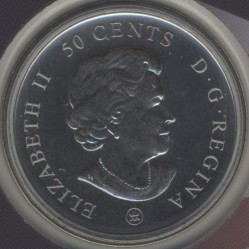 Münze > 50 Cent, 2009 - Kanada   (100th Anniversary - Montreal Canadiens (1912-1913)) - reverse