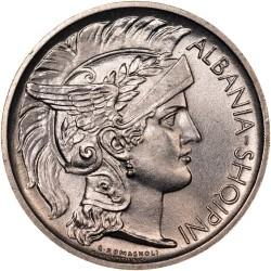 سکه > 1فرانگآر, 1927-1928 - آلبانی  - obverse
