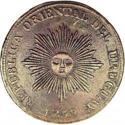 Monēta > 20sentimo, 1854-1855 - Urugvaja  - obverse