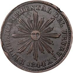 Moneda > 5céntimos, 1840-1854 - Uruguay  - obverse
