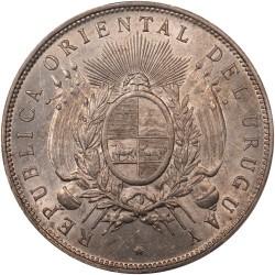Moeda > 1peso, 1878-1895 - Uruguai  - obverse