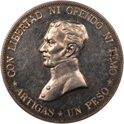Moeda > 1peso, 1917 - Uruguai  - reverse