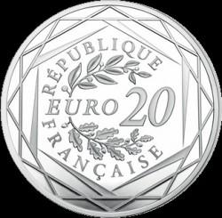 Moneta > 20euro, 2018 - Francja  (Marianna) - reverse