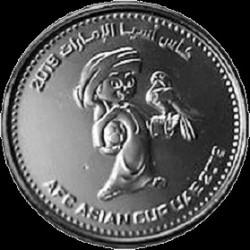 Coin > 1dirham, 2019 - United Arab Emirates  (AFC Asian Cup (UAE 2019)) - reverse