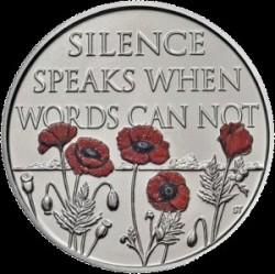 Moneda > 5libras, 2017 - Reino Unido  (99th Anniversary - Armistice Day) - reverse