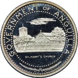 Coin > ½dollar, 1969-1970 - Anguilla  - obverse