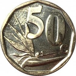 Moneta > 50centów, 2019 - Afryka Południowa  - reverse