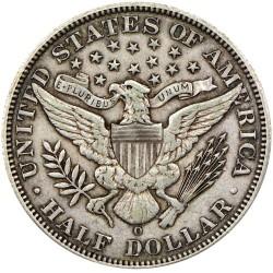 Minca > ½dolára, 1892-1915 - USA  (Barber Half Dollar) - reverse