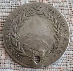Монета > 20кройцера, 1780-1790 - Австрия  (Joseph II - Open Wreath above Head) - obverse