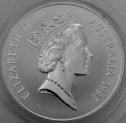 Монета > 1доллар, 1997 - Австралия  (Кенгуру) - obverse