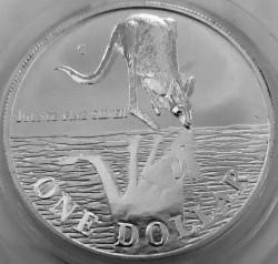 Монета > 1доллар, 1997 - Австралия  (Кенгуру) - reverse