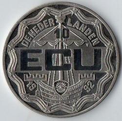 Moneta > 10ECUs, 1992 - Paesi Bassi  (Re Guglielmo I) - obverse