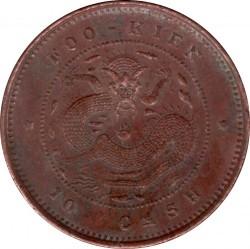"""Moneda > 10cash, 1901 - Xina - Imperi  (Només """"FOO-KIEN"""" en el revers) - reverse"""