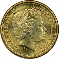 Coin > 2 dollars, 2013 - Australia  (60th Anniversary - Coronation of Queen Elizabeth II) - obverse