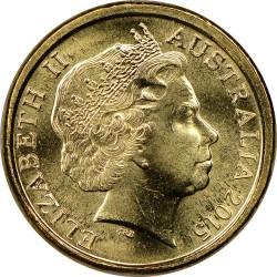 Moneda > 2dólares, 2015 - Australia  (100º Aniversario - Desembardo de Gallipoli /No Lo Olvidemos/) - obverse