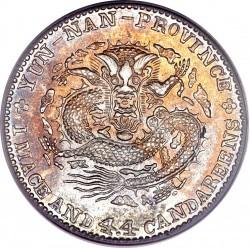 Moneda > 1mace4.4candareens, 1908 - Xina - Imperi  - reverse