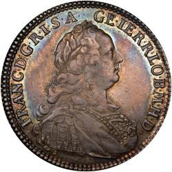 Монета > ½талера, 1751-1765 - Австрія  (Франц І) - obverse