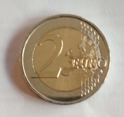 Coin > 2 euro, 2019 - Spain  (Spanish UNESCO - Old Town of Avila) - obverse