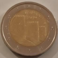 Coin > 2euro, 2019 - Spain  (Spanish UNESCO - Old Town of Avila) - obverse