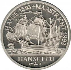 Monēta > 1ECU, 1993 - Vācija  (Hanse Cities - Lubeck) - reverse