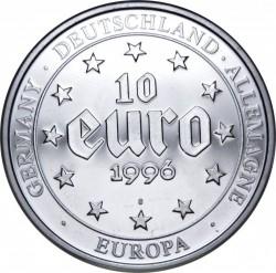 Moneta > 10euro, 1996 - Niemcy  (Karol Wielki) - obverse