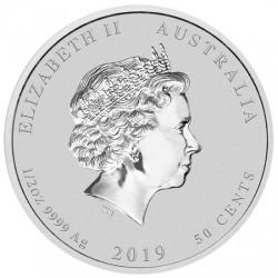 Moneta > 50centów, 2019 - Australia  (Chiński zodiak - Rok świni) - obverse