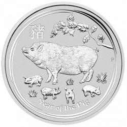 Moneta > 50centów, 2019 - Australia  (Chiński zodiak - Rok świni) - reverse