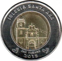 Moneta > 1balboa, 2019 - Panama  (Kościół św. Anny) - reverse