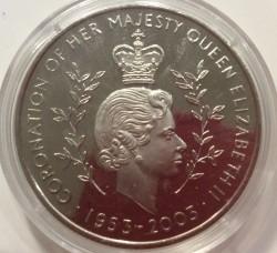 Moneta > 100sika, 2003 - Ghana  (50° anniversario - Incoronazione della regina Elisabetta II) - reverse
