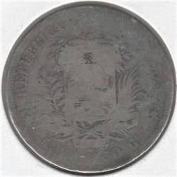 Moneta > 5realai, 1858 - Venesuela  - reverse