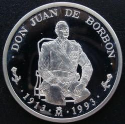 Münze > 5ECU, 1993 - Spanien  (Don Juan de Borbón / polierte Platte) - reverse
