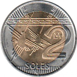Moeda > 2soles, 2016-2019 - Peru  - obverse