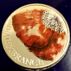 Coin > 5 pounds, 2018 - United Kingdom  (Remembrance Day) - reverse