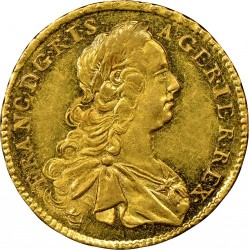 Монета > 1дукат, 1745-1765 - Австрія  (Франц І) - obverse