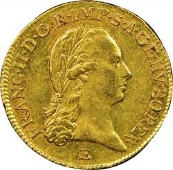 Монета > 1дукат, 1792-1804 - Австрія  - obverse