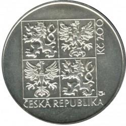 Moneta > 200corone, 1997 - Repubblica Ceca  (100th Anniversary - First Automobile in Bohemia) - obverse