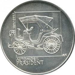 Moneta > 200corone, 1997 - Repubblica Ceca  (100th Anniversary - First Automobile in Bohemia) - reverse