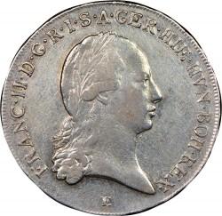 Moneta > ½kronenthalera, 1792-1797 - Niderlandy Austriackie  - obverse
