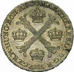 Moneta > ½kronenthalera, 1755-1779 - Niderlandy Austriackie  - obverse
