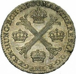 Moneta > ½kronenthalera, 1755-1779 - Niderlandy Austriackie  - reverse