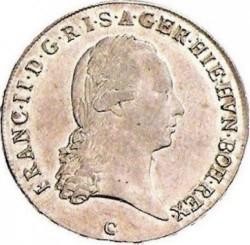 Монета > ½кроненталер, 1792-1797 - Австрийска Нидерландия  - obverse