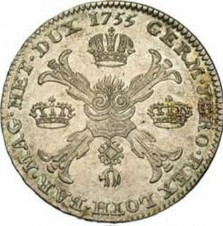 Moneda > 1kronenthaler, 1755-1765 - Països Baixos Austríacs  (Francesc I) - reverse