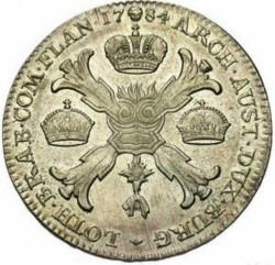 Moneta > 1kronenthaler, 1781-1790 - Niderlandy Austriackie  - reverse
