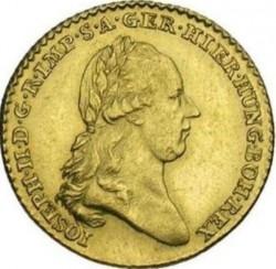 Monēta > ½soverēns, 1786-1790 - Austrian Netherlands  - obverse