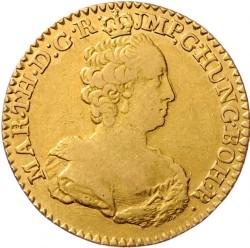 Monēta > 1soverēns, 1757-1766 - Austrian Netherlands  - obverse
