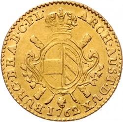 Monēta > 1soverēns, 1757-1766 - Austrian Netherlands  - reverse