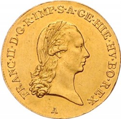 Moneta > ½suwerena, 1792-1798 - Niderlandy Austriackie  - obverse
