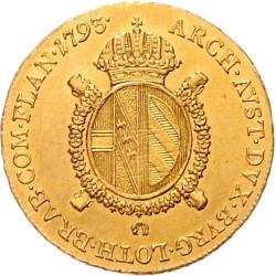 Moneta > ½suwerena, 1792-1798 - Niderlandy Austriackie  - reverse